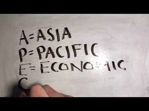 A.P.E.C. (Asian Pacific Economic Cooperation)
