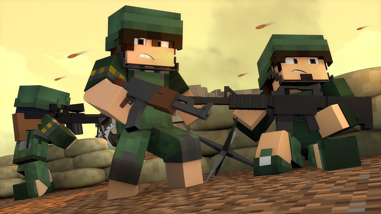 minecraft escadona de guerra am3nic youtube