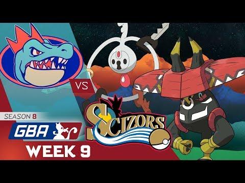 Pokemon GBA S8 Wk9 Wi-Fi Battle: Florida Gatrs vs Philadelphia Scizors