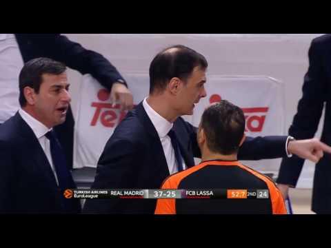 Georgios Bartzokas got ejected against Real Madrid