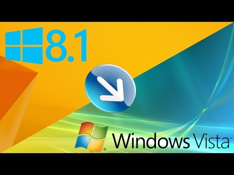 [Tutorial] How To Transform Windows 8.1 Into Windows Vista (2015)