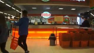 2017-10-01 Запрет видеосъемки в гипермаркете Глобус г.Королев