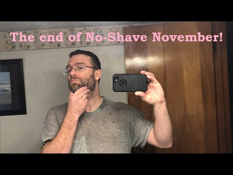 The End Of No-Shave November / Review of CONAIR Home Haircutting Kit - 2019-12-01