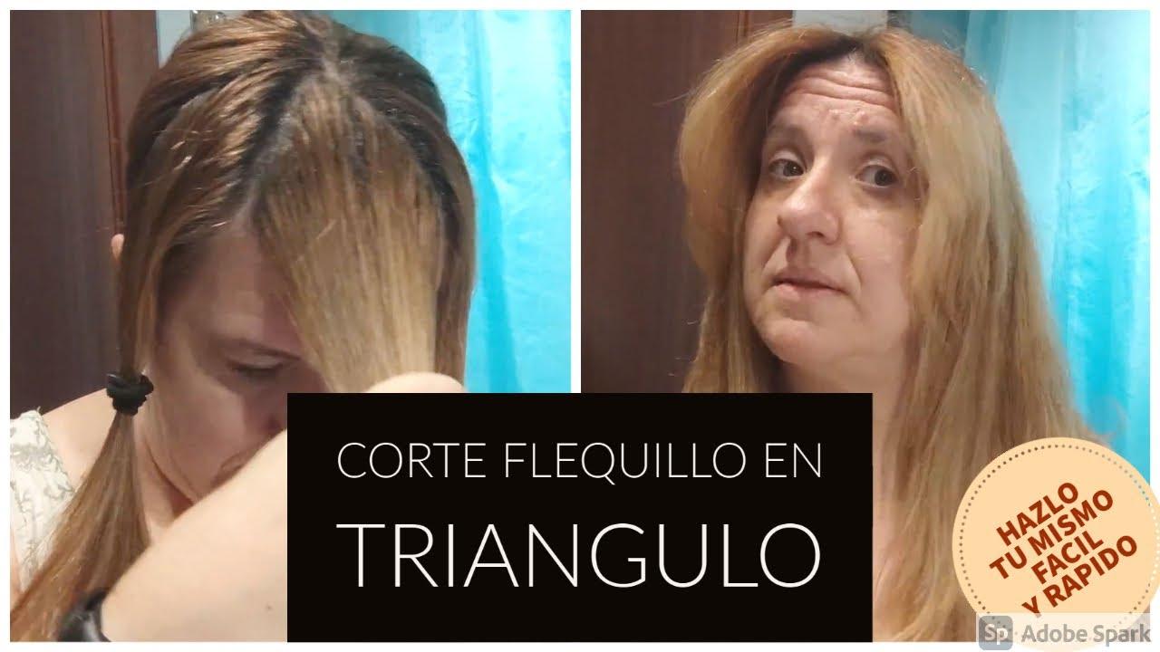 CORTE FLEQUILLO EN TRIANGULO