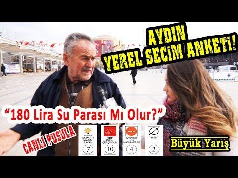 AYDIN'da CHP Ve AKP Arasında Çok Kritik Seçim Yarışı! Aydın Yerel Seçim Anketi