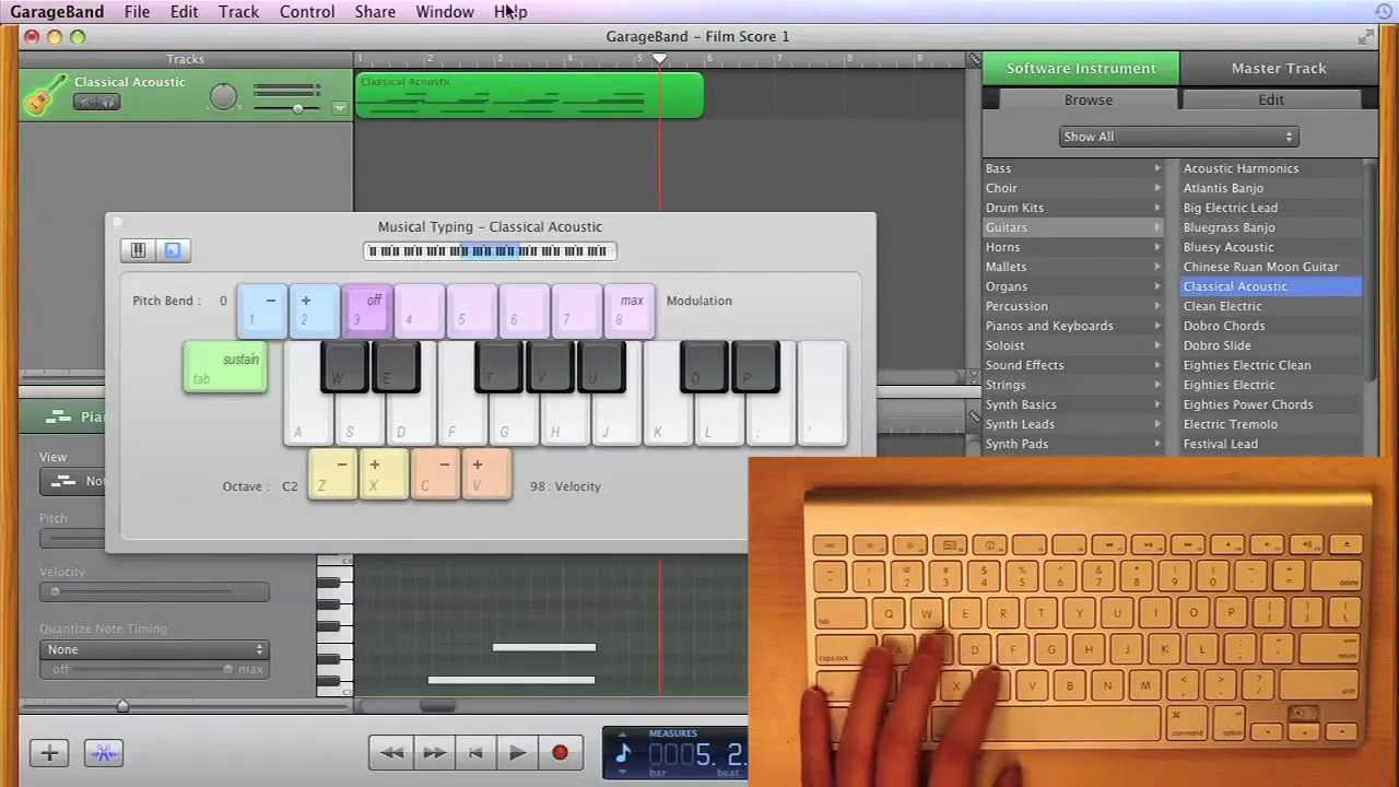 Garageband score writing a business