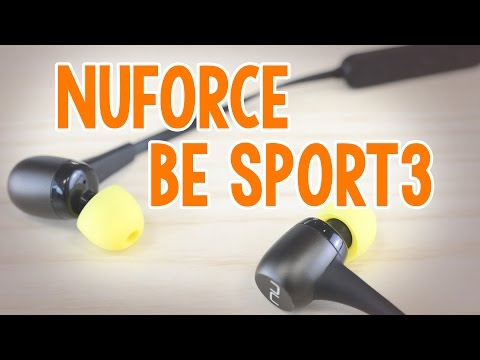 Optoma Nuforce BE Sport3 Wireless Earphones Review