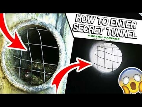 Call of Duty : Modern Warfare Remastered – How to Enter secret Tunnels Glitches/Secret spots (2018)