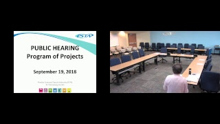 PSTA Hosting TBARTA Program of Projects (POP) Public Hearing 09/19/2018