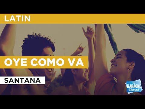 Oye Como Va : Santana | Karaoke With Lyrics