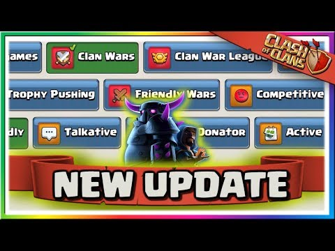 News: Clash Of Clans Update Video! New Tool For Recruitment | Halloween 2019!