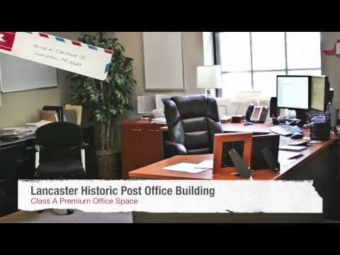 Historic Lancaster Post Office - Class A Premium Office Space