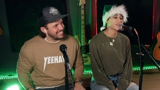 SCOTTY SIRE - LONELY CHRISTMAS (feat. Heath Hussar & Mariah Amato) Live Acoustic