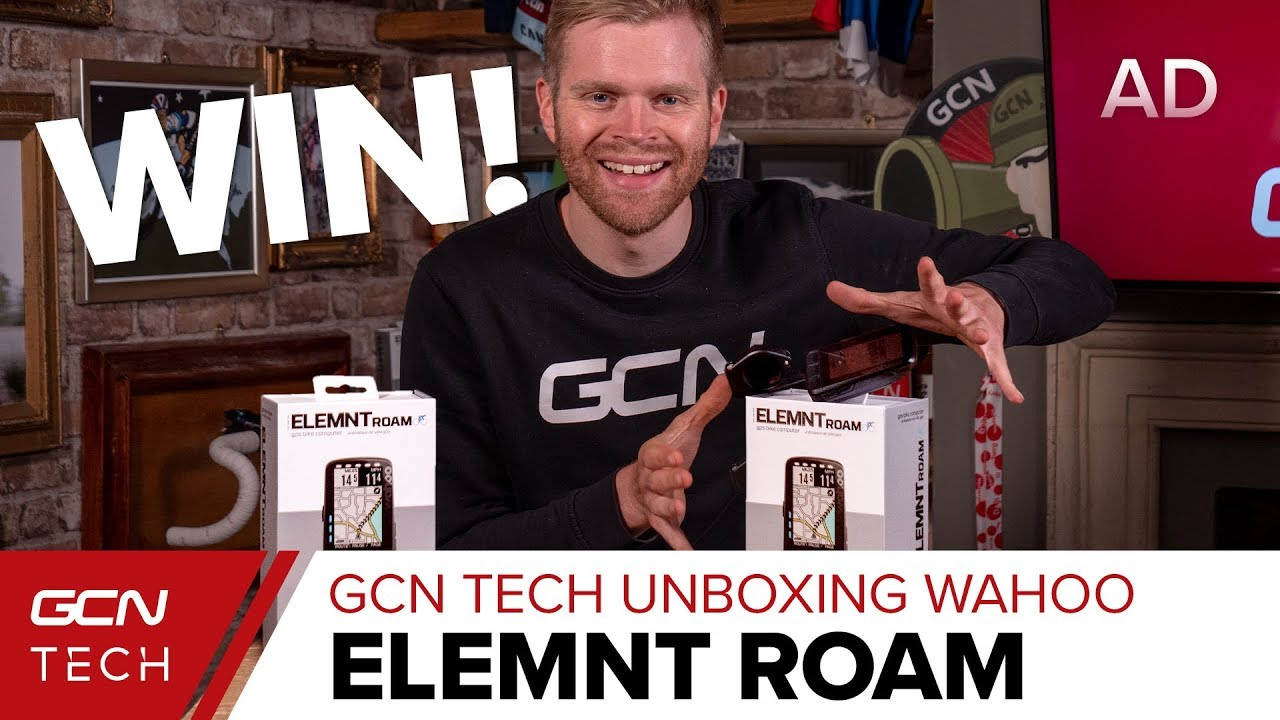 New Wahoo Elemnt ROAM Bike Computer | GCN Tech Unboxing