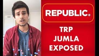 TRP Ratings Jumla of Republic TV Exposed | Face...