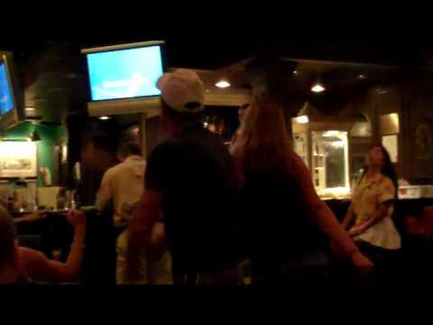 Karaoke in Henry's Pub on the Norwegian Spirit.  part 2