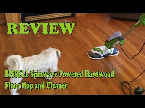 Review Bissell Spinwave Plus Hard Floor Cleaner and Mop 2019