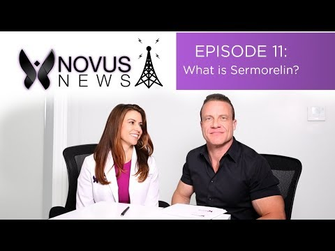 NOVUS NEWS Episode 11: What Is Sermorelin? (The New HGH?...)