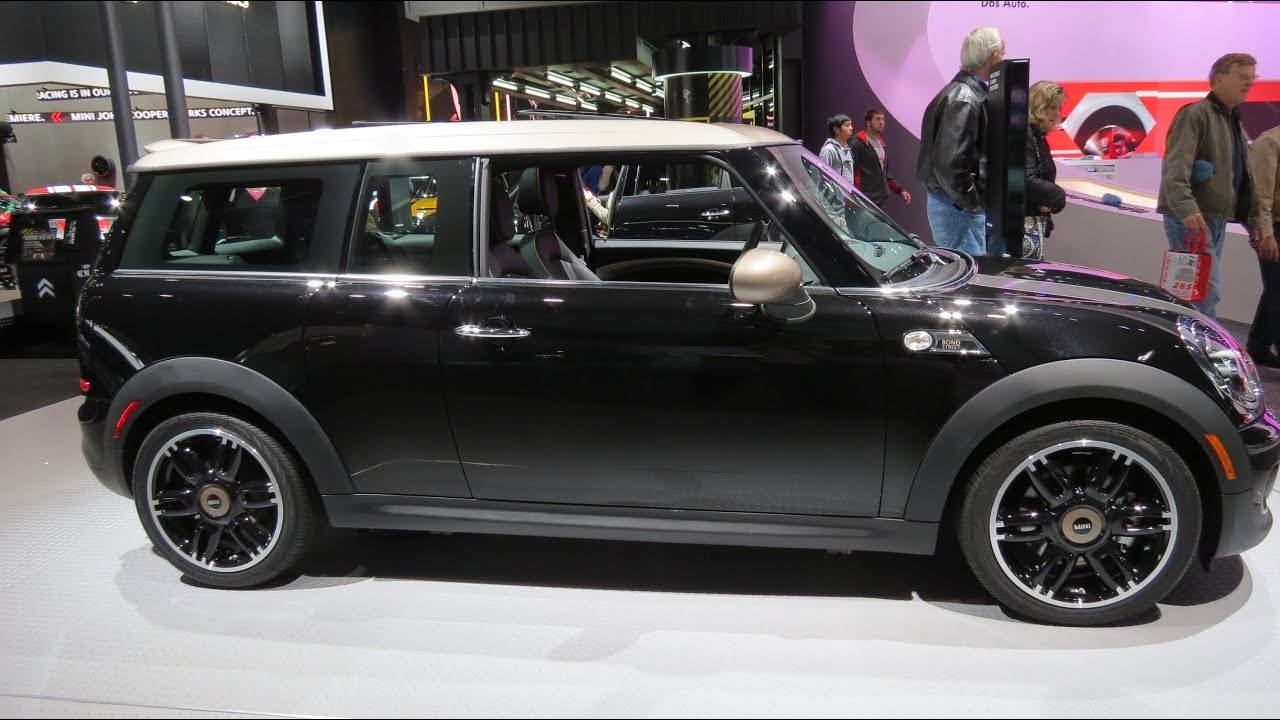 2015 mini cooper s clubman bond street at the 2014 naias. Black Bedroom Furniture Sets. Home Design Ideas