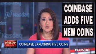 Coinbase Exploring 5 new coins | CNBC