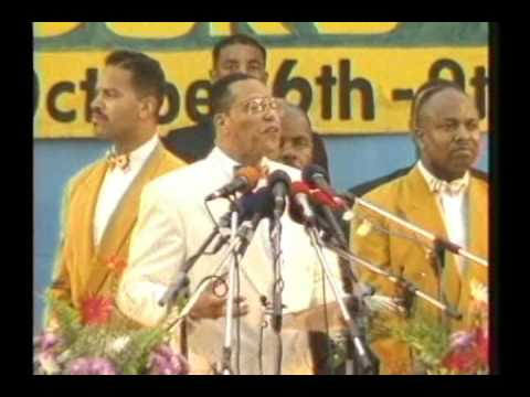 Minister Farrakhan Speaking in Accra, Ghana - 1994