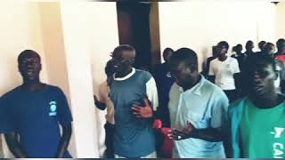 African's Singing ABBA KHUDHA Song In UGANDA Bible College, Unbelievable, Awesome. All glory to God