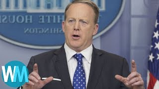 Top 10 Most Embarrassing Sean Spicer Blunders