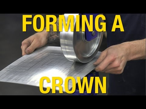 Form a Crown Using an English Wheel - Tech Tip From Eastwood