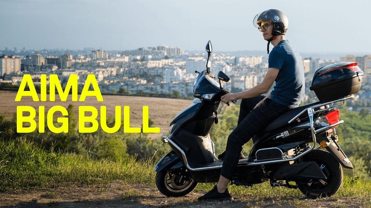 Aima Big Bull: Scuterul electric care trage tare (review română)
