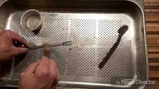 Vzduchovka vzor 47 druhé video Čistenie