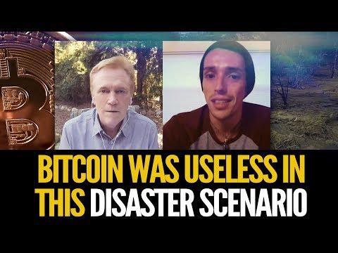 Bitcoin In A Disaster Scenario - Cash & Gold King In Hurricane Maria