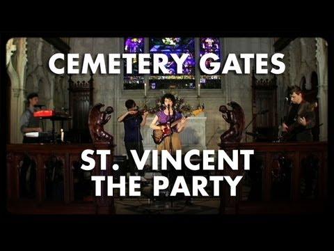 St. Vincent - The Party - Cemetery Gates