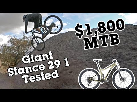 Only $1,800 And Ripping - Giant Stance 29 1 MTB Review