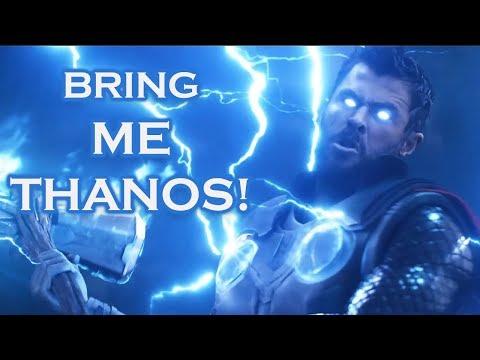 "Thor ""Bring Me Thanos"" - Infinity War HD"