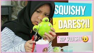 SQUISHY DARES? CUTTING MY PUNIMARU?! (Bahasa Indonesia)   Jasmine Zafirah