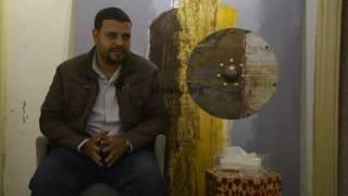 شاهد.. محمود مرعي.. فنان تشكيلي يُسخر الفرشة والألوان لابتكار الأثاث المنزلي
