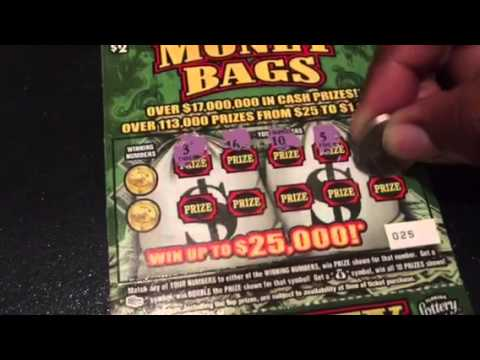 Florida Lottery Money Bags