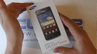 Samsung Galaxy S Advance (I9070) Android Smartphone Unboxing