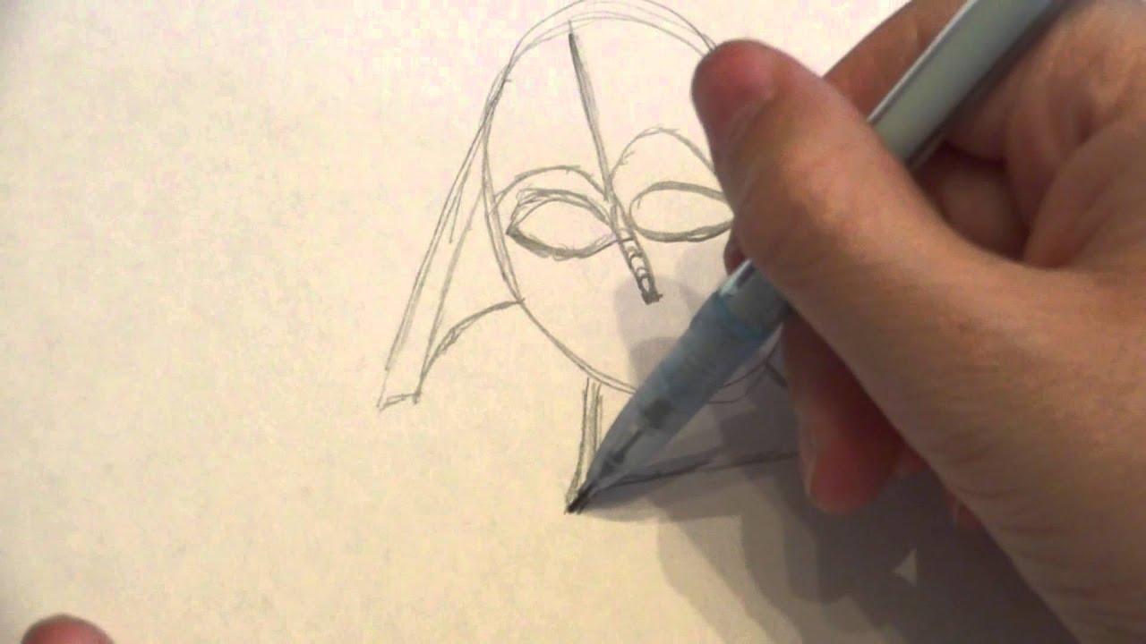 Art Suprême Episode 01 Dessiner Dark Vador 12