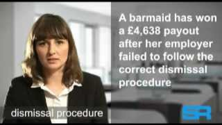 UK Employment Law - Dismissal procedure