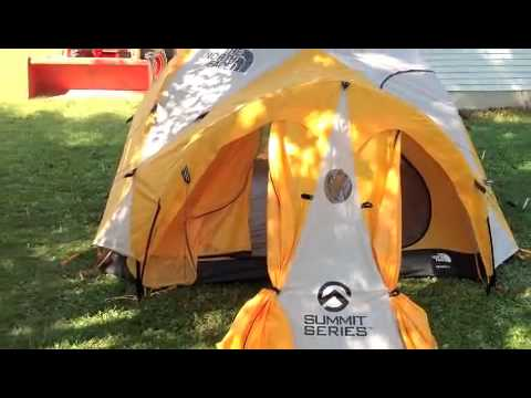 & North Face Bastion 4 Tent Review - YouTube