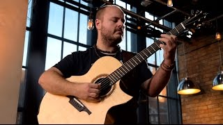 Andy McKee - Aerial Boundaries (Michael Hedges)  |  London Live Sessions