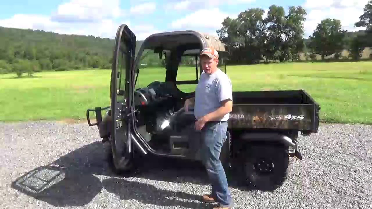 2011 kubota rtv1100 utv 4x4 side by side cab heat air 4x4 for sale youtube. Black Bedroom Furniture Sets. Home Design Ideas