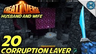 "Creativerse -Ep. 20- ""Corruption Layer"" -Let's Play Husband & Wife Gameplay-(S3)"