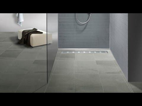 bodengleiche duschen einbau einer aco showerdrain duschrinne. Black Bedroom Furniture Sets. Home Design Ideas