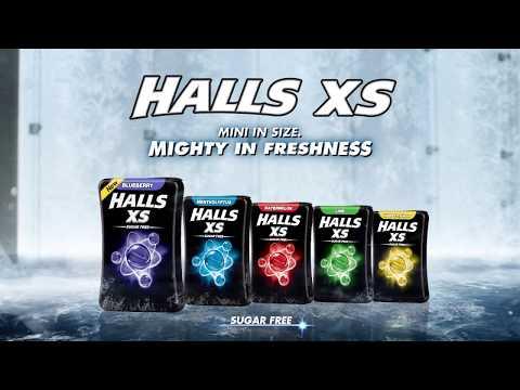 Halls XS Experience the Freshness 2018 - MYSG