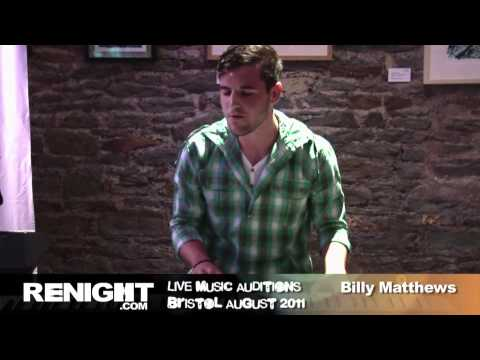 Open Mic UK, The Auditions, Billy Matthews, Bristol, August 2011. renight.com exclusi