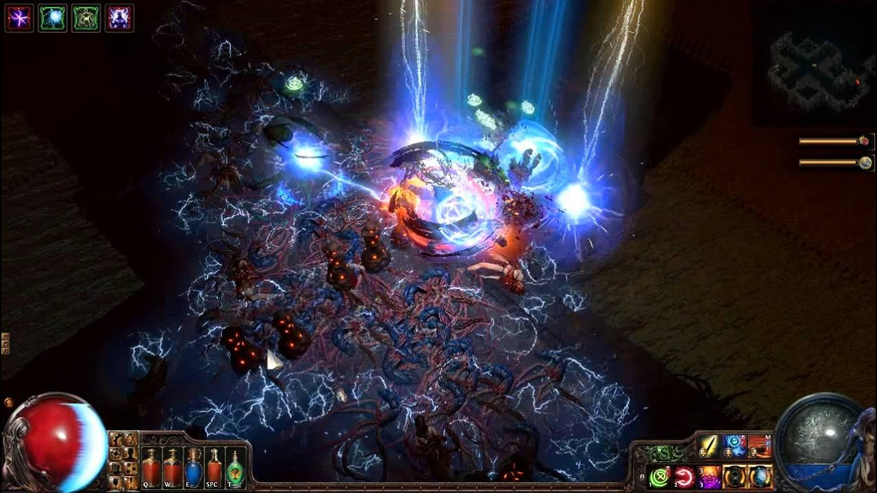poe torture chamber map boss 72 lvl 23 max ress temporal chains