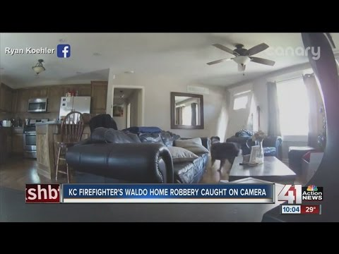 KC firefighters Waldo home robbery caught on camera
