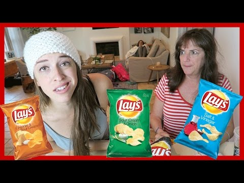 Lays Potato Chip Challenge!